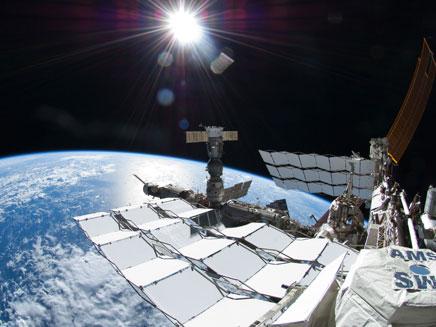 תחנת החלל הבינלאומית (צילום: רויטרס)