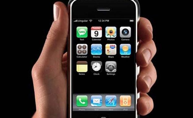 אייפון - המכשיר הנייד של חברת אפל (צילום: חדשות 2)