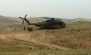 """הכוחות מחלצים מהשטח, היום (צילום: מד""""א)"""