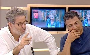 חיים כהן ואייל שני לקראת גמר מאסטר שף VIP (תמונת AVI: מתוך הבוקר של קשת ,שידורי קשת)