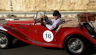 מסע המכוניות העתיקות בארץ הקודש (צילום: חדשות 2)