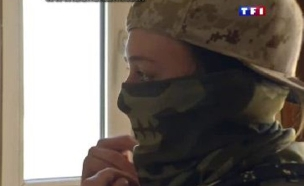 ג'יל רוזנברג בטלוויזיה הצרפתית (צילום: מתוך הסרטון)