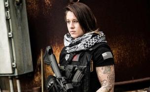 הלוחמת ציידת הציידים (צילום: boredpanda.com)