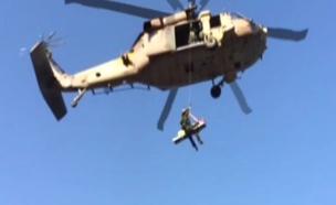 צפו: חילוץ המטיילת ממעלה בוקק