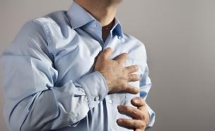 התקף לב (צילום: istockphoto)