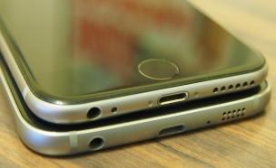 אייפון 6 מול גלקסי S6  (צילום: ניב ליליאן)