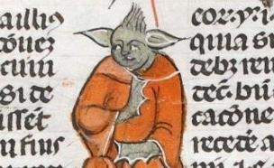 איור בדמותו של יודה בכתב יד מימי הביניים (צילום: פייסבוק ,פייסבוק)