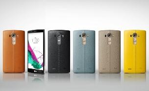 LG G4 עם גב מעור