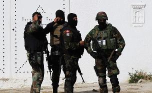 צבא תוניס חיילי אנטי טרור (צילום: רויטרס)