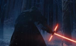 """אדם דרייבר ב""""מלחמת הכוכבים: הכוח מתעורר"""" (צילום: צילום מסך ,צילום מסך)"""