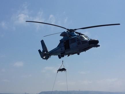 תרגיל רב זרועי בחיל הים (צילום: שי לוי)
