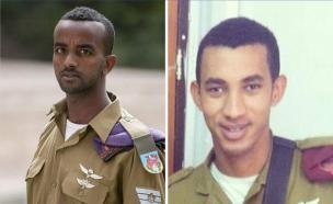 החיילים שאחיהם באתיופיה (צילום: באדיבות המצולמים)