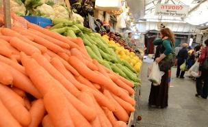 עלייה נרשמה במחירי הירקות והפירות (צילום: תם כינר)