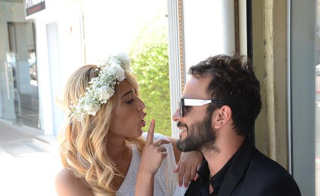 דנית ואליאב חתונה (צילום: אביב חופי ,mako)