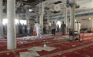 המסגד שהופצץ, היום (צילום: רויטרס)