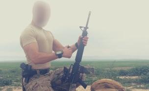 נורבגי שהתגייס לכורדים (צילום: חשבון האינסטגרם של הלוחם הנורבגי)