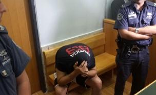 שיבלי בבית המשפט, היום (צילום: חדשות 2)