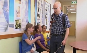 קמפיין חדש למען תעסוקת עיוורים (צילום: חדשות 2)