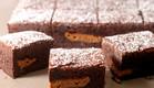 בראוניז שוקולד ולוטוס (צילום: נועם בסט)