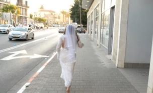 איציק וענבל בוחרים שמלת כלה (צילום: מתוך הבילויים ,ערוץ 24)