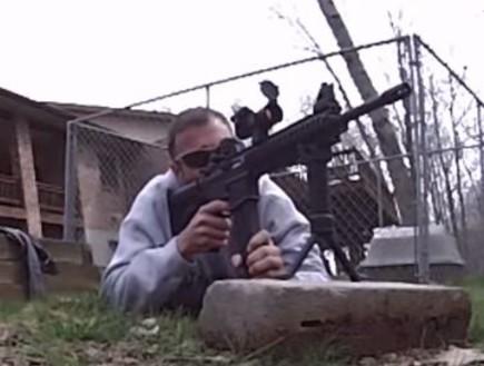 ירייה למפשעה (צילום: יוטיוב )