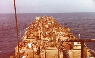 גדוד 202 בדרך לחוף הלבנוני  (צילום: ויקיפדיה)