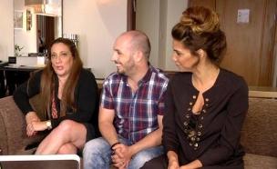 איציק וענבל פוגשים את אירית רחמים (צילום: מתוך הבילויים ,ערוץ 24)