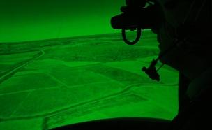 אלביט, מטוס קרב, מסך מגע (צילום: חדשות 2)