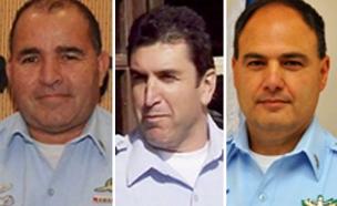 המועמדים הבולטים. סאו, אקסול והלוי (צילום: חטיבת דוברות המשטרה)