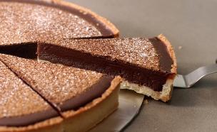 טארט גאנאש שוקולד לוטוס (צילום: נועם בסט ,אוכל טוב)
