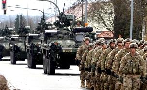 כוחות אמריקניים במזרח אירופה? (צילום: רויטרס)