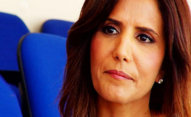 הגברת הראשונה של הכדורגל הישראלי (צילום: חדשות 2)