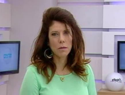 ג'ודי בתגובה ראשונה לציוץ (צילום: מתוך הדצים ,ערוץ 24)