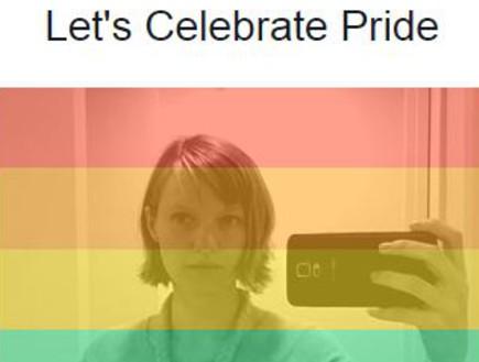 """קמפיין """"חוגגים גאווה"""" בפייסבוק (צילום: ויטה קיירס ,NEXTER)"""