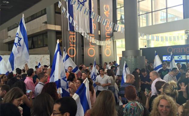 """המחאה בפרטנר לאחר התבטאות מנכ""""ל אורנג"""