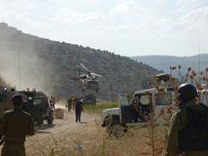 הפיגוע הקטלני ליד דולב (צילום: מתניה אהרונוביץ - סוכנות תצפית)