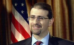 חי: חגיגות בבית השגריר האמריקני (צילום: חדשות 2)