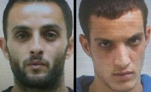 המחבלים נהרגו בקרב יריות עם השוטרים (צילום: חדשות 2)
