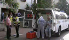 זירת הרצח בלוד (צילום: חדשות 2)