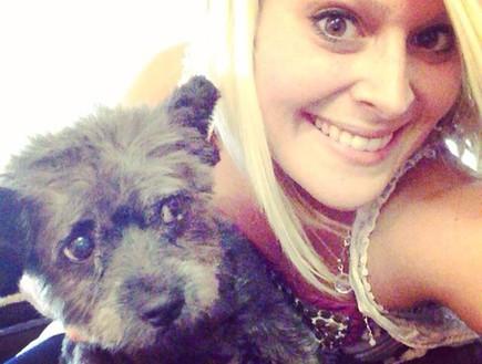 צ'סטר הכלב שחלה בסרטן (צילום: מתוך עמוד הפייסבוק: Chester's final journey)