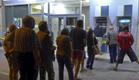 יוון כספומטים (צילום: חדשות 2)
