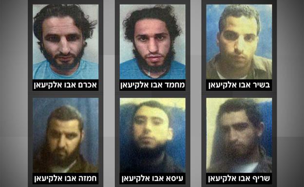 """חשודים בהצטרפות לדאע""""ש (צילום: שבכ)"""