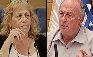 צפו בדיון הסוער בוועדה (צילום: ערוץ הכנסת)