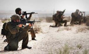 """המוטיבציה לשירות קרבי נשארה בעינה (צילום: דובר צה""""ל)"""