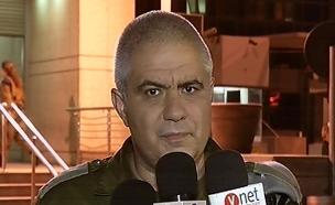 """דובר צה""""ל מוטי אלמוז (צילום: חדשות 2)"""