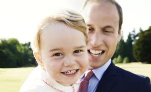 הנסיך ג'ורג' (צילום: getty images ,getty images)