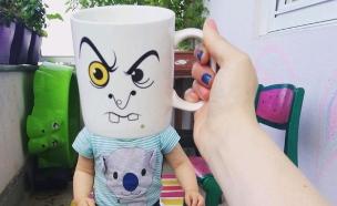 ספלי קפה של גיבורי על  (צילום: אינסטגרם)