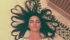 שיער הלבבות של קנדל ג'נר (צילום: instagram ,מעריב לנוער)