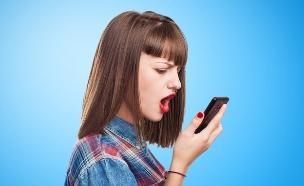 נערה מדברת בטלפון (צילום: shutterstock ,מעריב לנוער)