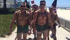 חיילי מארינס בתחתונים (צילום: מתוך הפייסבוק של 22, with 22, for the 22, in silkies)